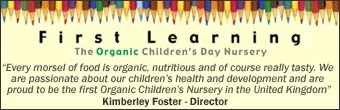 First Learning Banner
