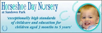 Horseshoe Day Nursery Banner