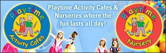 Playtime Activity Nursery Banner