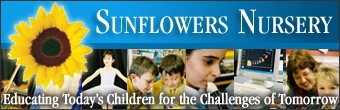 Sunflower Nursery Banner